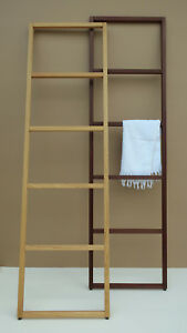 Thermoholz Handtuchhalter Handtuchleiter Holz Handtuch