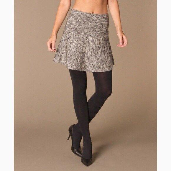 EUC Theory Gida Mélange Stretch-Wool Mini Skirt (women's medium)