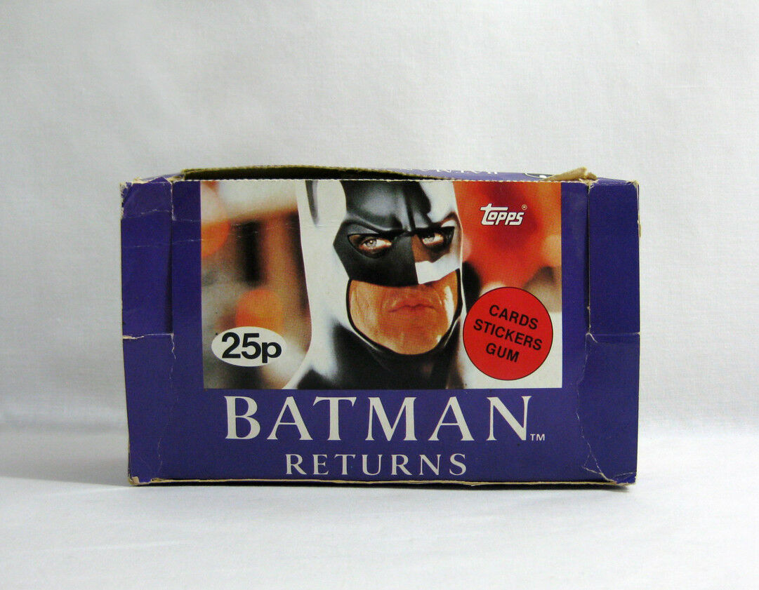 NUOVO 1992 Batman Batman Batman Returns ✧ TOPPS ✧ VINTAGE MOVIE foto GUM Card MISP b46f7f
