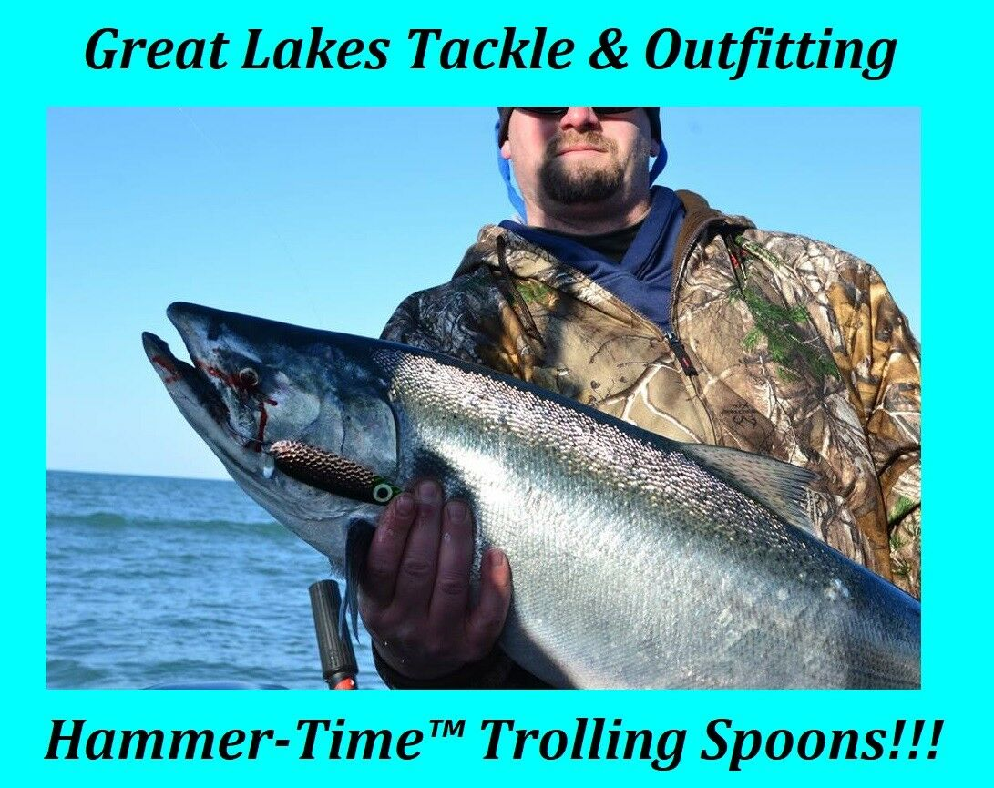 Hammer-Time™ Trolling Spoons, Trophy Trout & Salmon