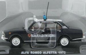 ALFA ROMEO Alfetta - 1972 - Carabinieri - Atlas 1:43