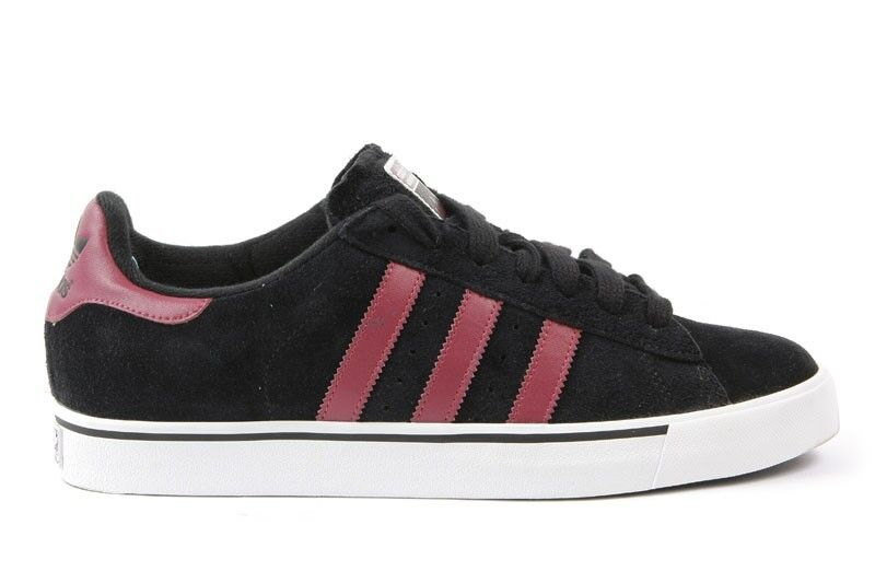 Adidas CAMPUS VULC Black Future Red Running White Discounted Price reduction Men's Shoes Brand discount