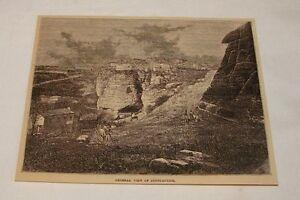 1879-magazine-engraving-GENERAL-VIEW-OF-CONSTANTINE-Algeria