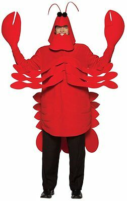 Costumes! Mardi Gras Carnival Parade Lobster Tunic Costume Set Adult