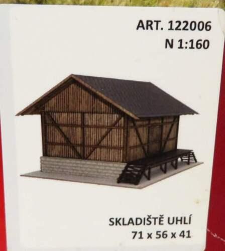 Schaal N Igra Model Railways Accessories kit 122006 'Coal