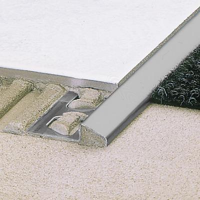 """Schluter SCHIENE E80 For 5//16/"""" Thick Tile Edging Profile 8/' 2-1//2/"""" Length"""