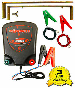 Electric-Fence-Energiser-ShockRite-SRB120-1-2J-12v-Battery-Powered-Fencer