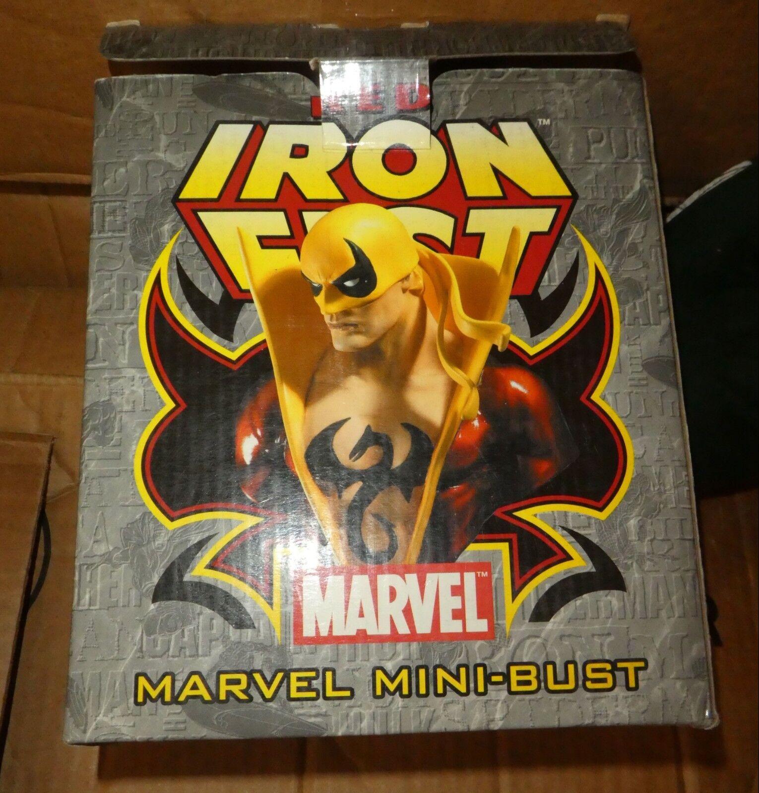 Bowen Marvel Comics Rosso Iron Fist Busto nuova figura VARIANTE
