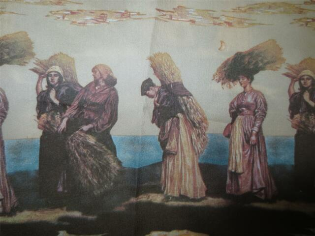 70's Disco Novelty Theme Chemise Et Cie Shirt Autumn Harvest Women In Costume M