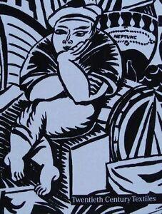 BOOK-LIVRE-BOEK-20th-CENTURY-TEXTILES-TEXTILE-art-nouveau-deco-50s-60s-70s