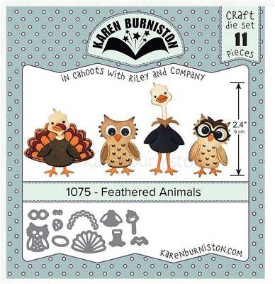 KB Riley Karen Burniston Die Set ~ SPRING ANIMALS  ~ 3D Card Making ~1074