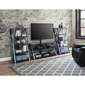 Whalen Xavier 3 In 1 Tv Stand For Tvs Up To 70 With 3 Display Options For Flat Ebay