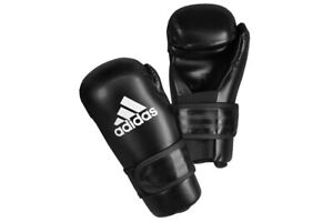 Educación teatro Talla  Adidas Wako Kickboxing Guantes De Contacto Semi Pro Guantes Taekwondo Itf  Artes Marciales | eBay