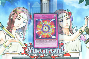Number Wall Yu-Gi-Oh! Secret Rare NUMH-EN058 - Number Hunters 1st Edition