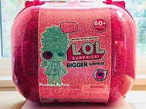 Lol Surprise Big Bigger 60 Surprises 4 Poupées Sous Enveloppes Hairgoals Bling Christmas