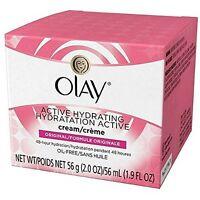 2 Pack - Olay Active Hydrating Cream Original 2 Oz Each on sale