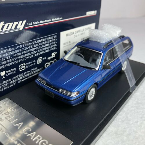 1989 1//43 Hi-story MAZDA CAPELLA CARGO   GL-X Blue  HS272BL