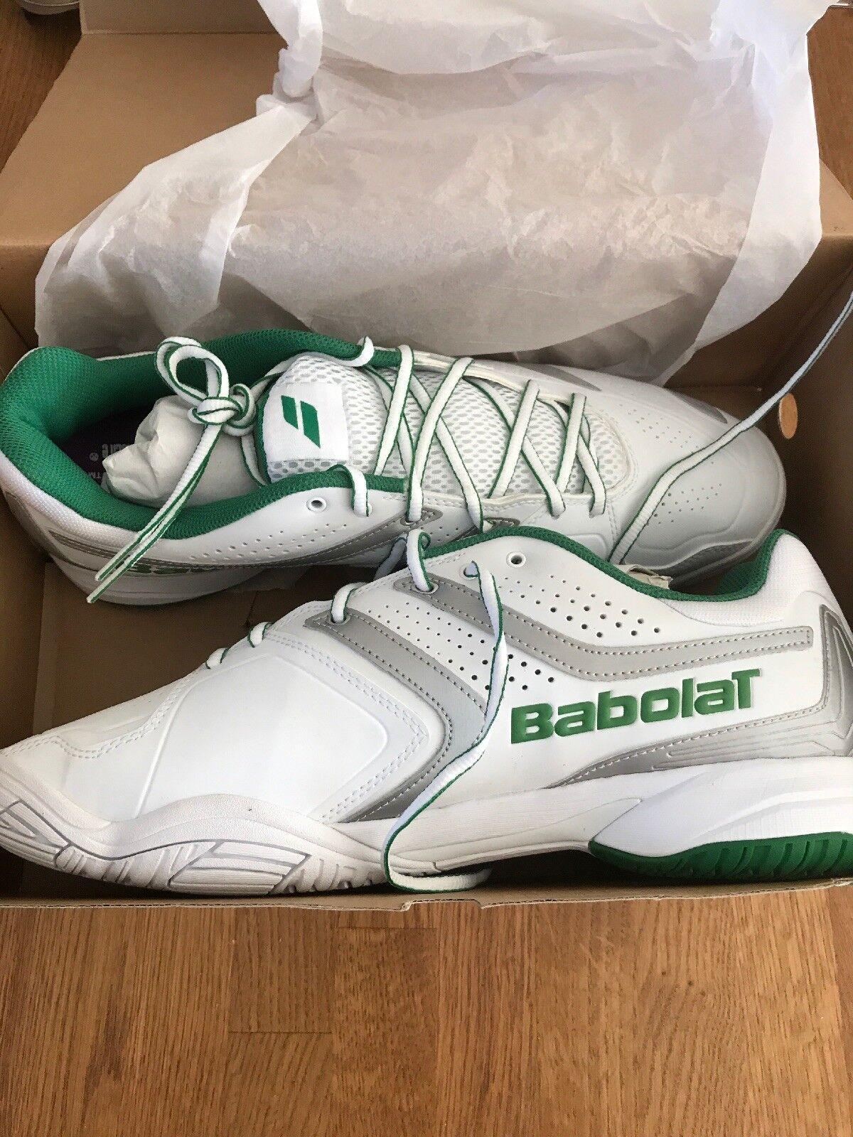 Babolat Drive 3 All Court Wimbledon Tennis Trainers - Size 13.5