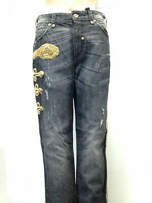 Dolce e Gabbana denim pants  jeans  woman trousers   made in italy  d/&g  fashion pants