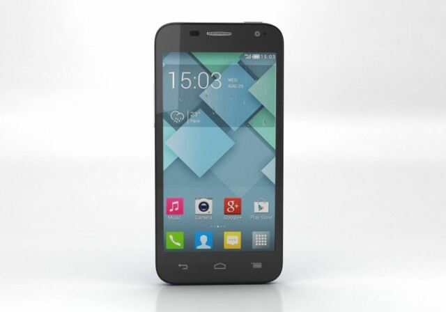 Brand New BOOST ALCATEL ONETOUCH VIEW 5.0 7040A Mobile - Unlocked Cheap Phone