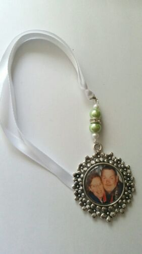 Bouquet memory charm locket flower frame pictures and charm box optional your co