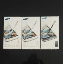 JOBLOT OF 3 BOXED Samsung Galaxy Note 2 N7100 8MP 16GB  Unlocked SmartPhones