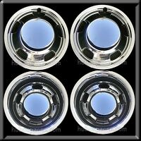 2003-2017 Dodge Ram 3500 17 Dually Chrome Wheel Simulators & Center Caps Covers