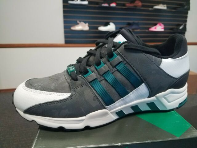 buy popular b19cb 588ef New Adidas Equipment Running Support EQT Running BLACK EMERALD B24780 Size  12