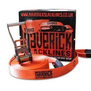 MAVERICK-slackline-25m-Slackline-y-instruccion-opcional