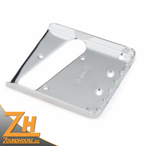 Fender American Vintage Tele® Thinline Bridge Plate, Nickel