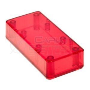 CONTENITORE-PLASTICO-ROSSO-95x23x45-CUSTODIA-PLASTICA-ELETTRONICA