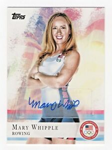 2012-Topps-USA-Olympic-Team-Autograph-7-Mary-Whipple-Rowing-Coxswain