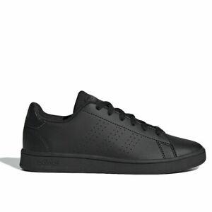 Détails sur Chaussures Adidas Advantage K Garçon Femme Unisexe Noir Total  EF0212 Original