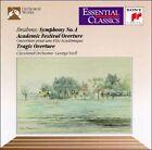 Brahms: Symphony No. 4; Academic Festival Overture; Tragic Overture (CD, Apr-1991, Sony Classical)