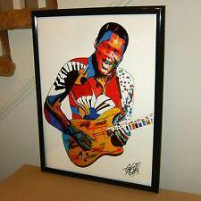 Robert Cray, Singer, Guitar, Blues Guitarist, Fender Guitar, 18x24 POSTER w/COA