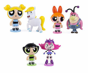 The Power Puff Girls 2 Figure Pack Donny Maylyn Bubbles Buttercup