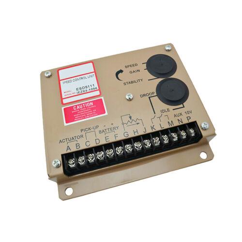 Motor electrónico Controlador de Velocidad Generador ESD5111 piezas regulador de velocidad