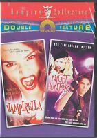 Vampirella/night Hunter - Double Feature Dvd (dvd, 2003) Roger Daltrey,