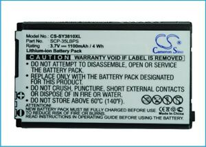Battery-For-Sanyo-SCP-3810-Mirro-SCP-3810-Replacement-Sanyo-SCP-35LBPS-1100mAh