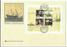 Australia.1985 Terra Australis Miniature Sheet FDC on large cover.