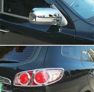 Tail+Mirror For Hyundai Santa Fe 2007-2009 Chrome Exterior Styling Trim Set