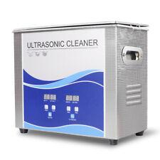 Digital Ultrasonic Cleaner 3l30l With Heating Bath For Metal Hardware Dental Us