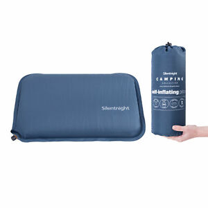 Silentnight Camping Pillow Self Inflatable Blow Up Festival Travel 1 2 4 Pack