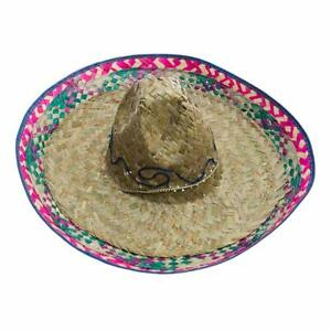 Adult-Sombrero-Hat-With-Red-Trim-19-034