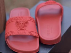 Versace medusa sandals RED pool slides