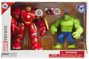 Disney-Marvel-Toybox-Hulkbuster-amp-Hulk-Exclusive-Action-Figure-2-Pack-Battle-Set