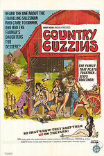 COUNTRY CUZZINS original 1970 SEXPLOITATION one sheet movie poster RENE BOND