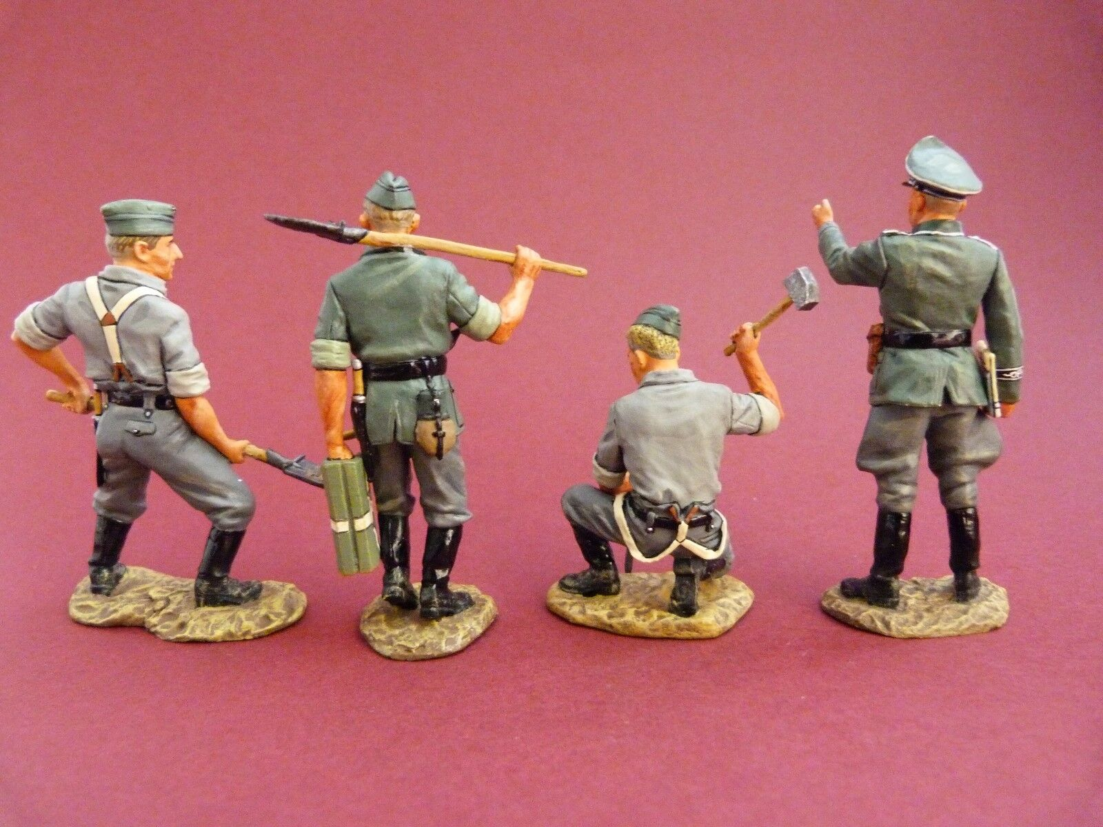 King & Country Country Country (retiRouge ) - GrosDeutschland - Soldats alleFemmeds WW2 ref WS045 | élégant  e99076
