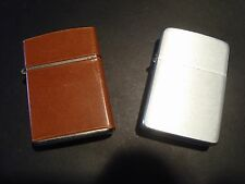 LOT OF 2 Vintage Flip Top Lighters- 1-Park Lighter-USA 1-CHAMP-Austria- VG Cond.