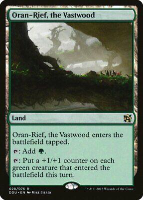 Gekwalificeerd Oran-rief, The Vastwood Elves Vs. Inventors Nm-m Land Rare Magic Card Abugames
